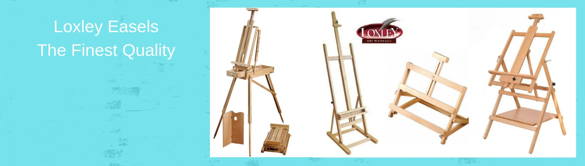 Loxley easels from £1.99