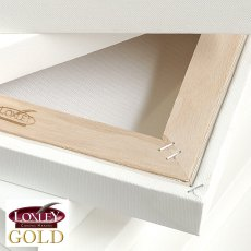 Loxley Gold  Stretched Canvas