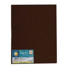 Acrylic Felt - Dark Brown