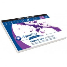 A4 Aquafine Textured Artboard Watercolour Pad by Daler Rowney