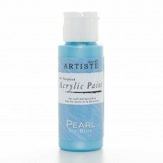 docrafts artiste Speciality Pearlescent Paint (2oz) - Pearl Ice Blue