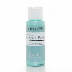 docrafts artiste Speciality Pearlescent Paint (2oz) - Pearl Frosted Mint