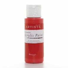 Artiste Acrylic Paint (2oz) - Rouge