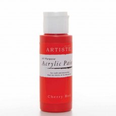Artiste Acrylic Paint (2oz) - Cherry Red