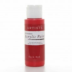 Artiste Acrylic Paint (2oz) - Dark Red