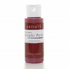 Artiste Acrylic Paint (2oz) - Pomegranate