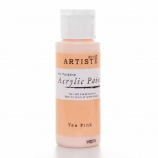 Artiste Acrylic Paint (2oz) - Tea Pink