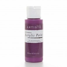 Artiste Acrylic Paint (2oz) - Blackberry