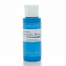 Artiste Acrylic Paint (2oz) - Electric Blue