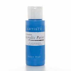 Acrylic Paint (2oz) - Azure Blue