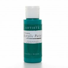 Artiste Acrylic Paint (2oz) - Conifer Green