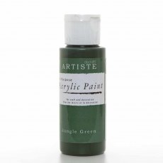 Artiste Acrylic Paint (2oz) - Jungle Green