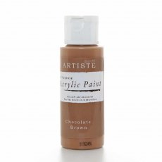 Artiste Acrylic Paint (2oz) - Chocolate Brown