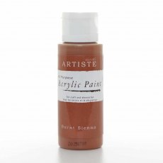 Artiste Acrylic Paint (2oz) - Burnt Sienna