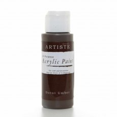 Artiste Acrylic Paint (2oz) - Burnt Umber