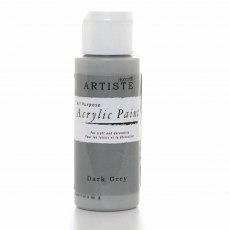 Artiste Acrylic Paint (2oz) - Dark Grey