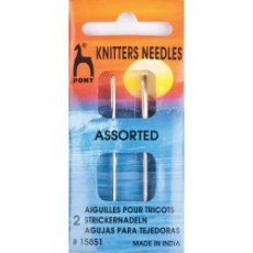 Pony Knitters Needles Assorted