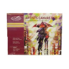 Loxley Canvas Pad - 10 Sheets 360 gsm
