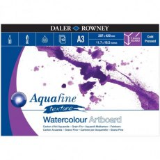 Aquafine Texture Watercolour Artboard by Daler Rowney