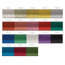 Sulky Metallic Thread: 500m