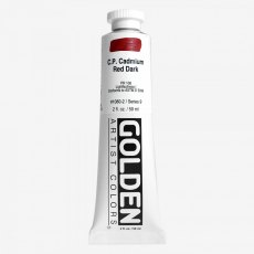 Golden Heavy Body 60ml C.P. Cadmium Red Light IX Acrylic 59ml