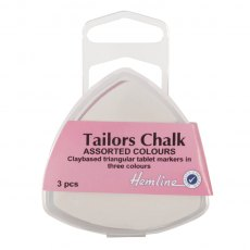 Tailors' Chalk Triangle - 3pk