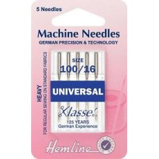 Universal Machine Needles: Mixed  5 pieces