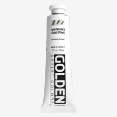 Golden Heavy Body Interference Gold Fine VII  Acrylic 59ml
