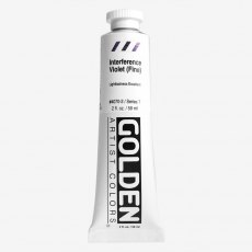 Golden Heavy Body Interference Violet Fine VII  Acrylic 59ml