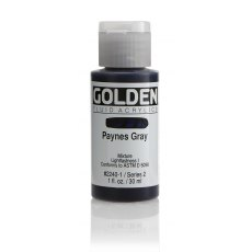Golden Fluid Paynes Gray II 30ml