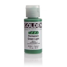 Golden Fluid Permanent Green Light IV 30ml
