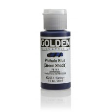 Golden Fluid Phthalo Blue Green Shade IV 30ml