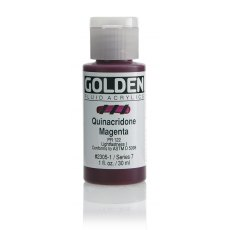 Golden Fluid Quinacridone Magenta VII 30ml
