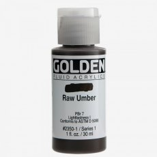 Golden Fluid Raw Umber I 30ml