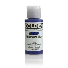 Golden Fluid Ultramarine Blue II 30ml