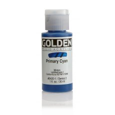 Golden Fluid Primary Cyan II 30ml
