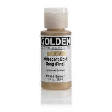 Golden Fluid Iridescent Gold Deep Fine VII 30ml