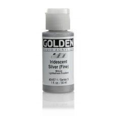 Golden Fluid Iridescent Silver Fine V 30ml