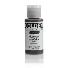Golden Fluid Micaceous Iron Oxide IV 30ml
