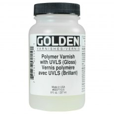 Golden Poly Varnish Gloss 237ml
