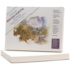 Goldline Watercolour Studio Pad 200gsm 24x32 cm 100 Sheets