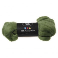 South American Merino Wool 21 Micron - Cactus
