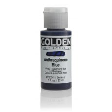 Golden Fluid Anthraquinone Blue VII 30ml