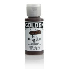Golden Fluid Burnt Umber Light I 30ml
