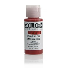 Golden Fluid Cadmium Red Medium Hue IV 30ml