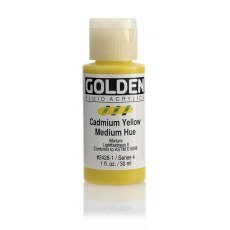 Golden Fluid Cadmium Yellow Medium Hue IV 30ml