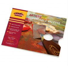 Artists' Expendable Palette by Loxley 16 x 12 inches