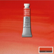 W&N PROFESSIONAL WATERCOLOUR 5ML TBE CADMIUM RED NY-0102