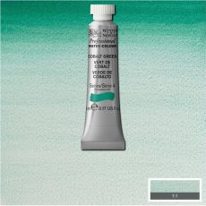 W&N PROFESSIONAL WATERCOLOUR 5ML TBE COBALT GREEN NY-0102