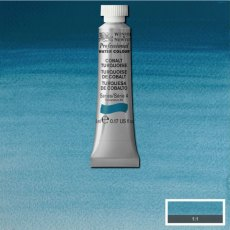 W&N PROFESSIONAL WATERCOLOUR 5ML TBE COBALT TURQUOISE